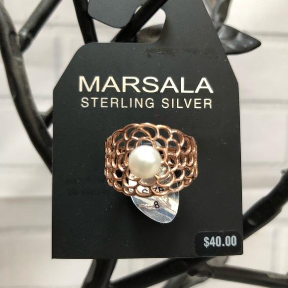 Rose Gold Filigree Ring